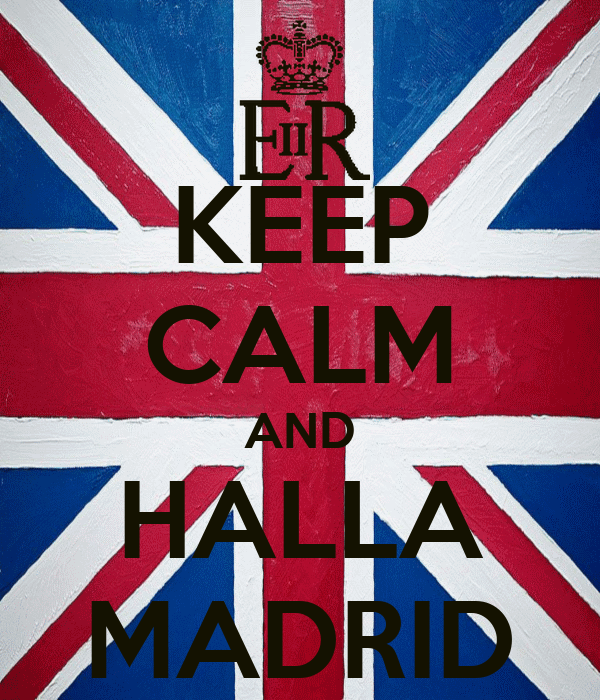 KEEP CALM AND HALLA MADRID
