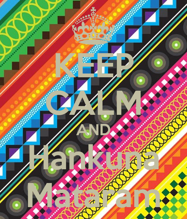 KEEP CALM AND Hankuna Mataram