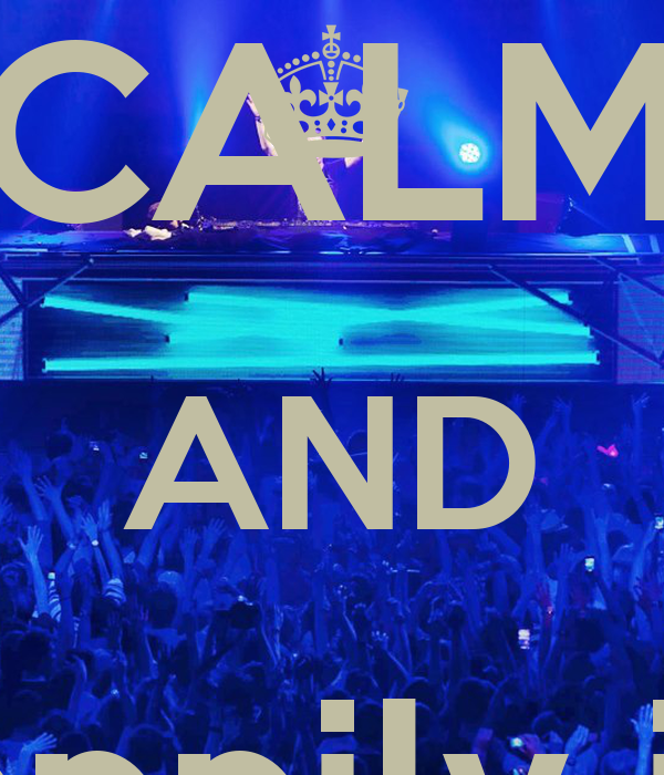 KEEP CALM AND happily in  love hardwell