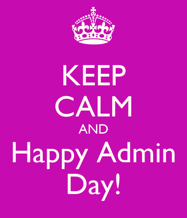 when is admin day