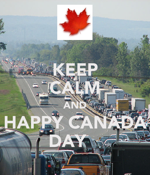 KEEP CALM AND HAPPY CANADA DAY
