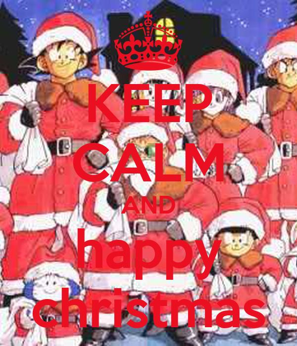 KEEP CALM AND happy christmas
