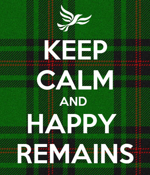 KEEP CALM AND  HAPPY  REMAINS