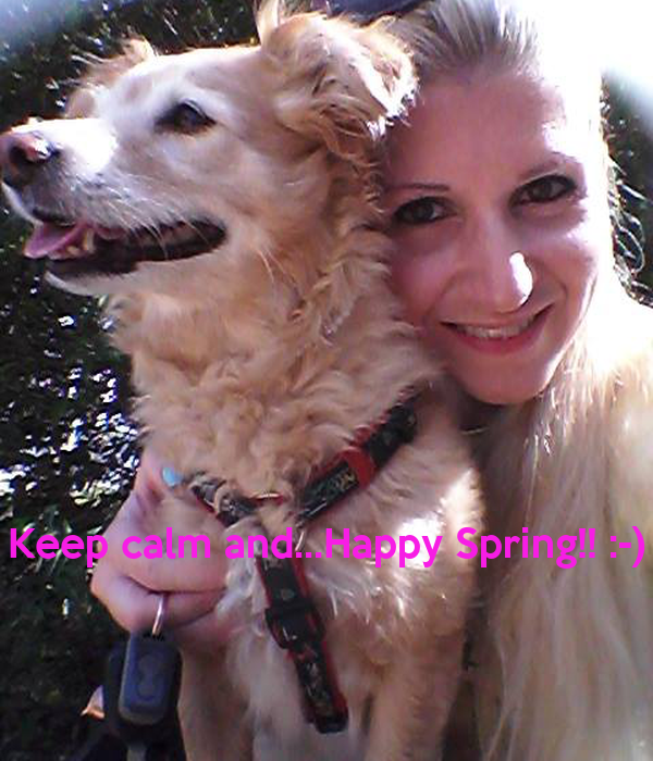Keep calm and...Happy Spring!! :-)