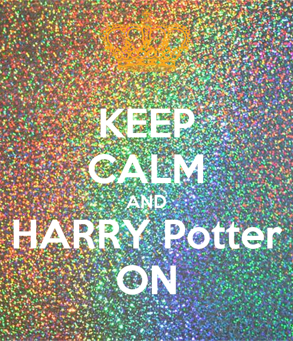 keep calm and harry potter on poster karenlepatner52