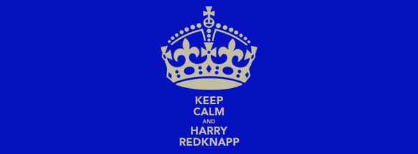KEEP CALM AND HARRY REDKNAPP