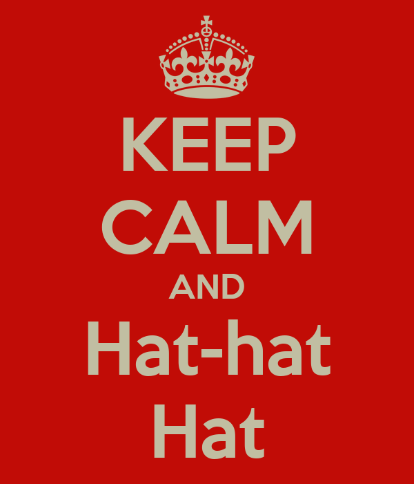 KEEP CALM AND Hat-hat Hat