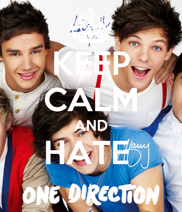 KEEP CALM AND HATE