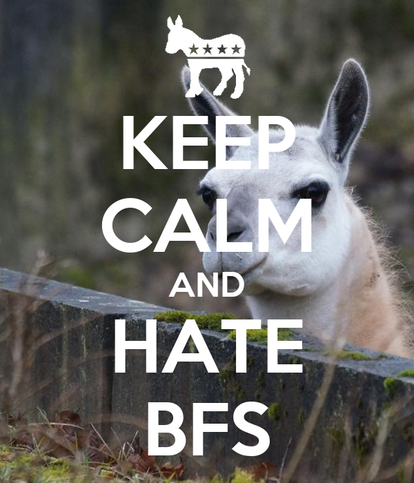 KEEP CALM AND HATE BFS