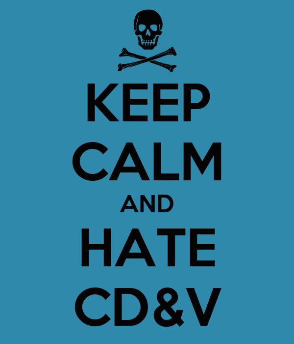 KEEP CALM AND HATE CD&V