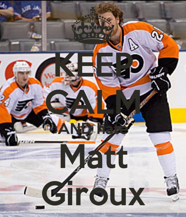KEEP CALM AND hate Matt Giroux