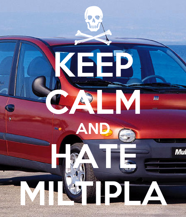 KEEP CALM AND HATE MILTIPLA