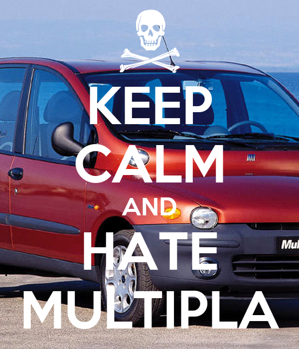 KEEP CALM AND HATE MULTIPLA