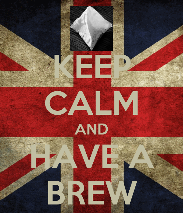 KEEP CALM AND HAVE A BREW