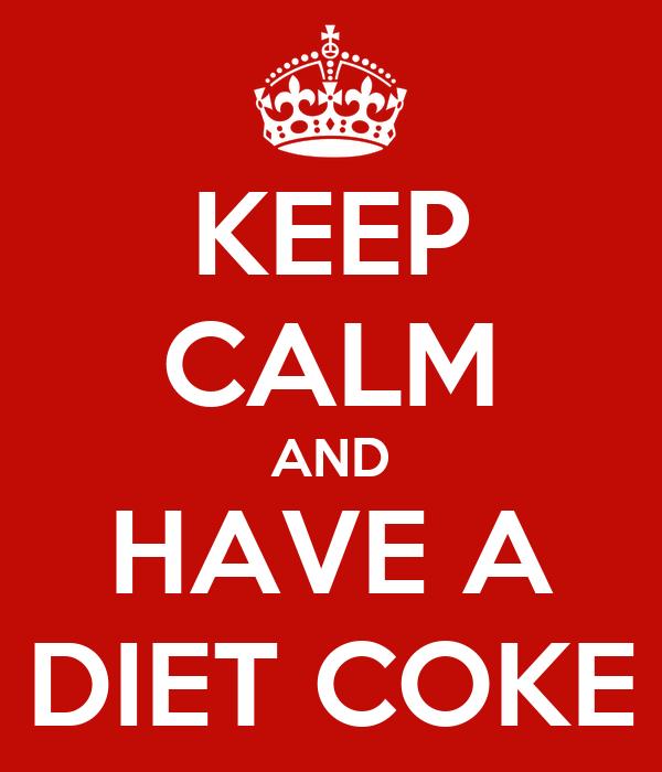 Diet Coke Travel Mug