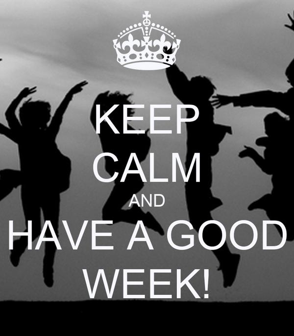 Image result for good week