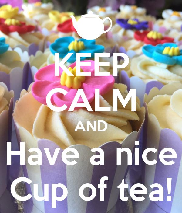 a nice cup of tea pdf