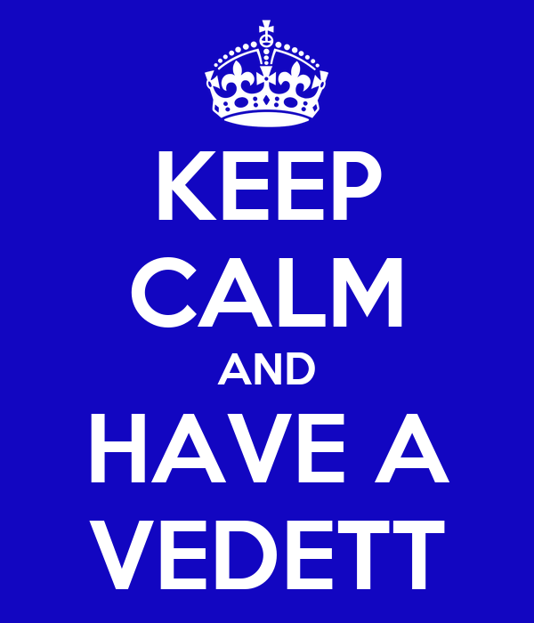 KEEP CALM AND HAVE A VEDETT
