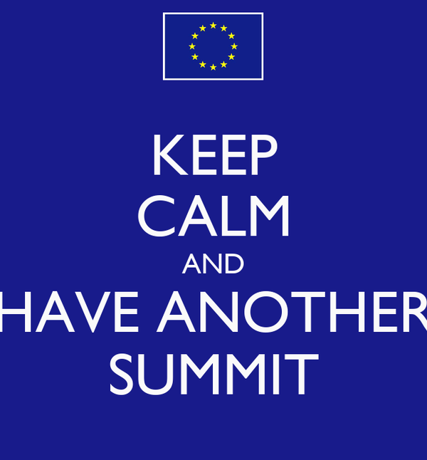 KEEP CALM AND HAVE ANOTHER SUMMIT