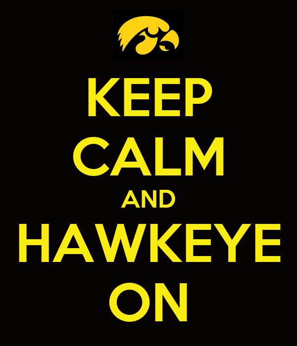KEEP CALM AND HAWKEYE ON