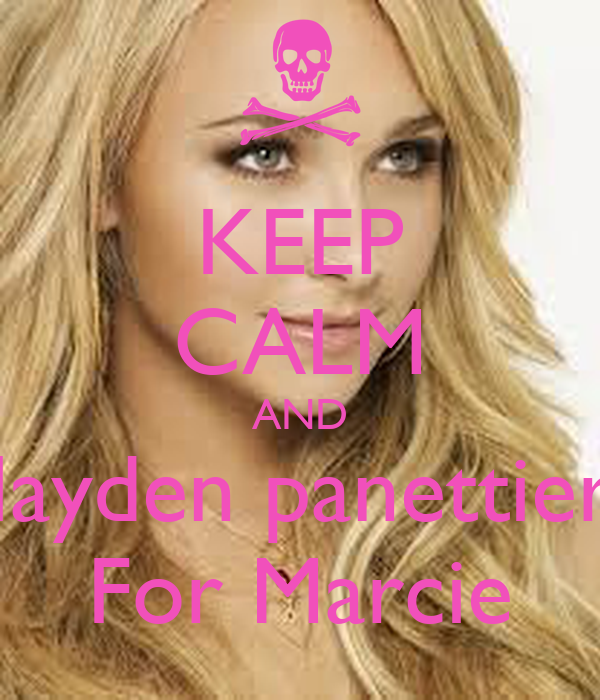 KEEP CALM AND Hayden panettiere For Marcie