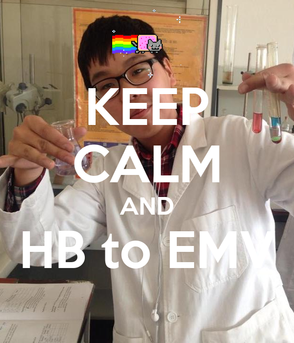 KEEP CALM AND HB to EMV