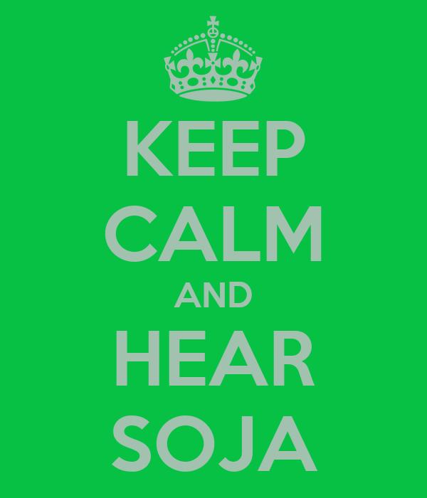 KEEP CALM AND HEAR SOJA