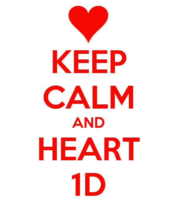 KEEP CALM AND HEART 1D