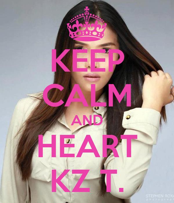 KEEP CALM AND HEART KZ T.