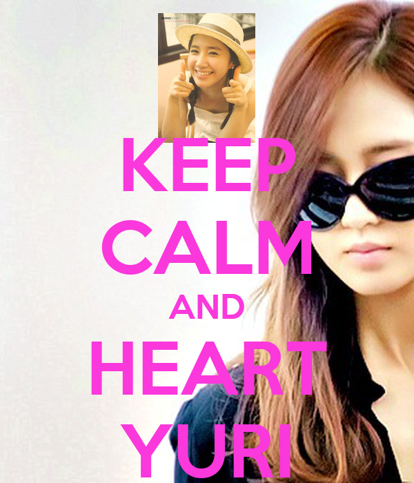 KEEP CALM AND HEART YURI