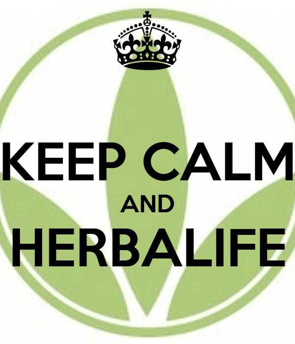 KEEP CALM AND HERBALIFE