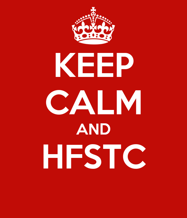 KEEP CALM AND HFSTC