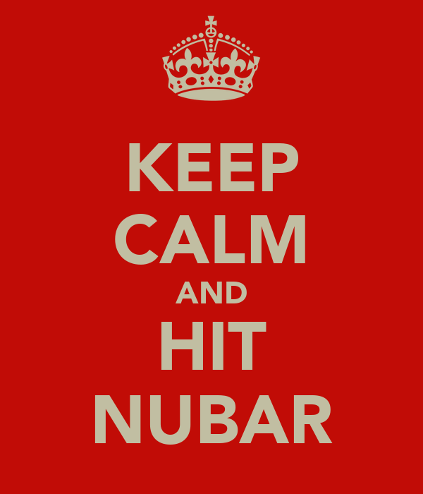 KEEP CALM AND HIT NUBAR