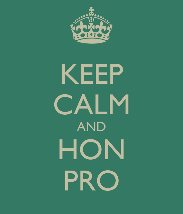 KEEP CALM AND HON PRO