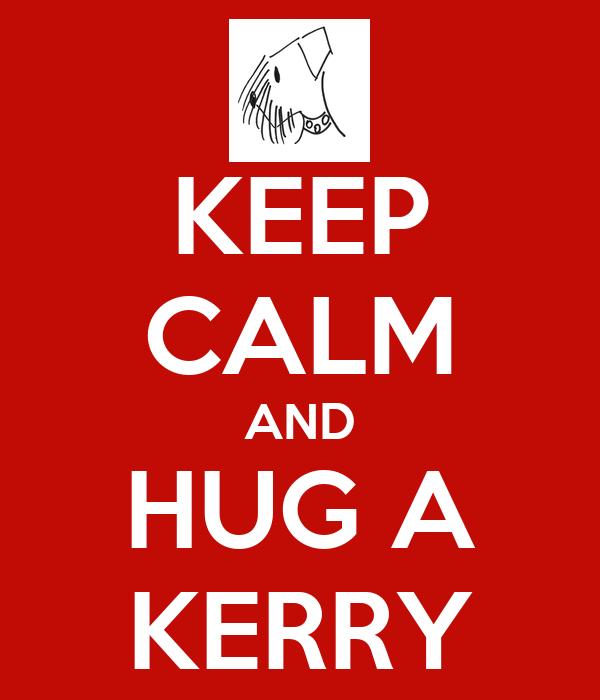 KEEP CALM AND HUG A KERRY