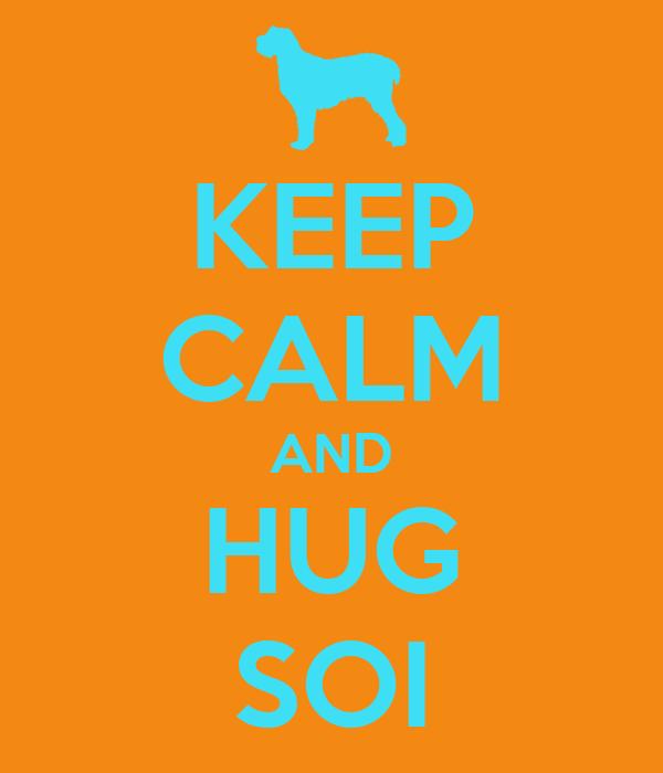 KEEP CALM AND HUG SOI