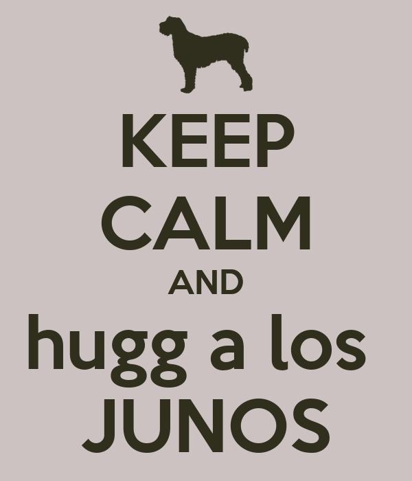 KEEP CALM AND hugg a los  JUNOS