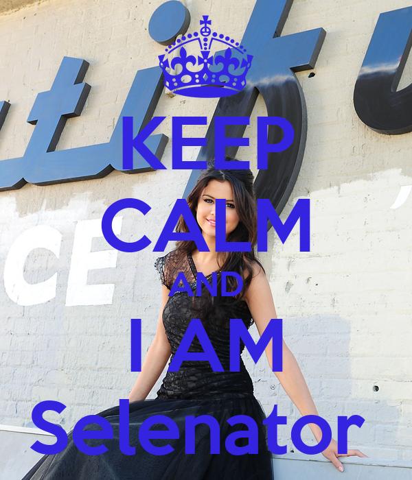KEEP CALM AND I AM Selenator