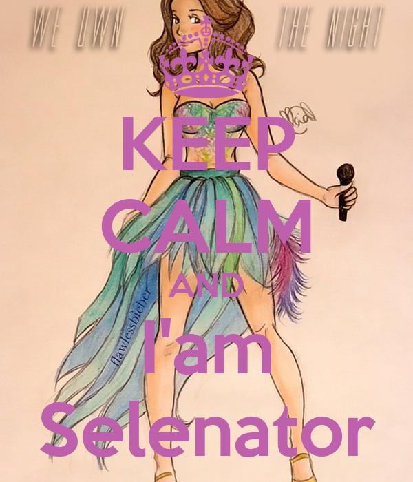KEEP CALM AND I'am Selenator