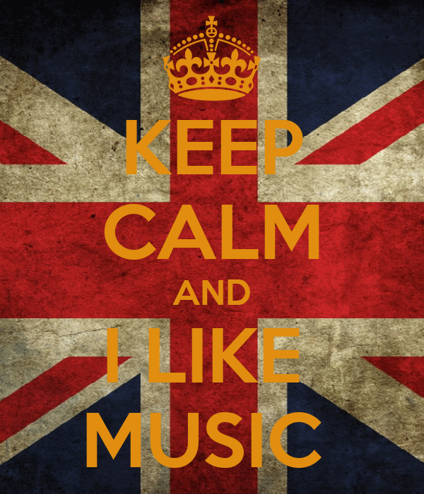 KEEP CALM AND I LIKE  MUSIC