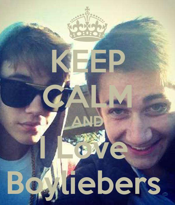 KEEP CALM AND I Love  Boyliebers