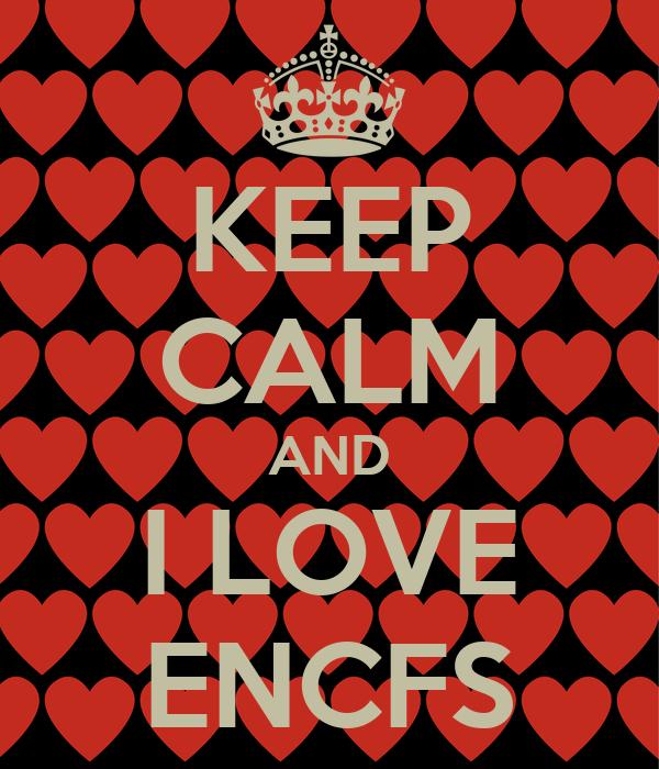 KEEP CALM AND I LOVE ENCFS