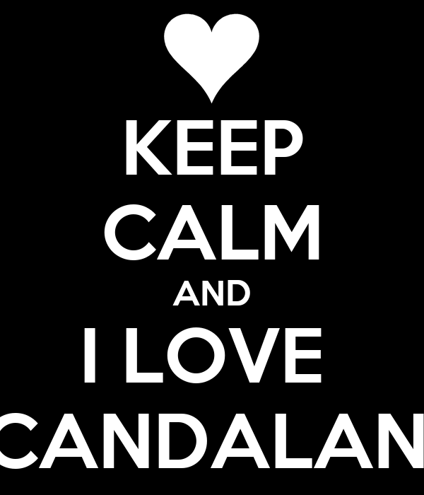 KEEP CALM AND I LOVE  SCANDALAND