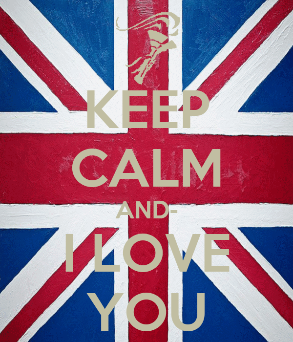 KEEP CALM AND- I LOVE YOU