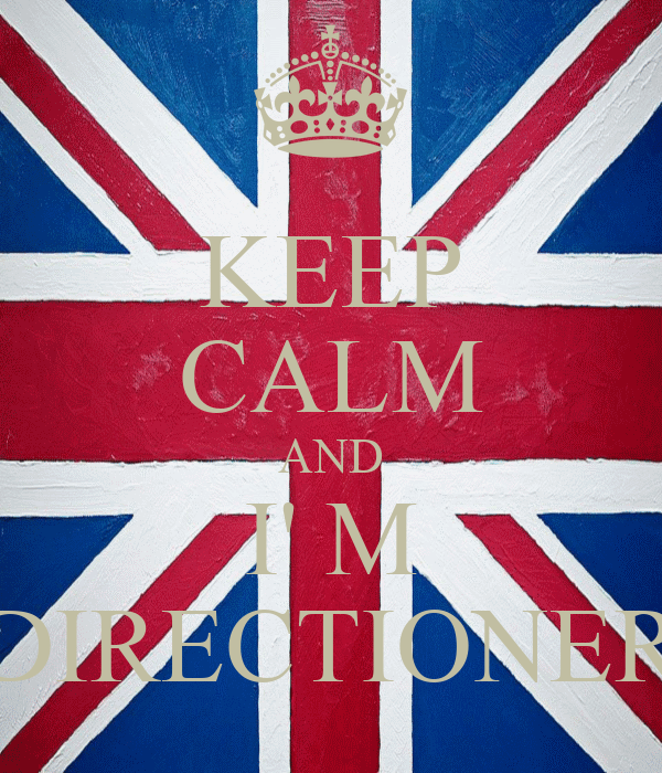 KEEP CALM AND I' M DIRECTIONER