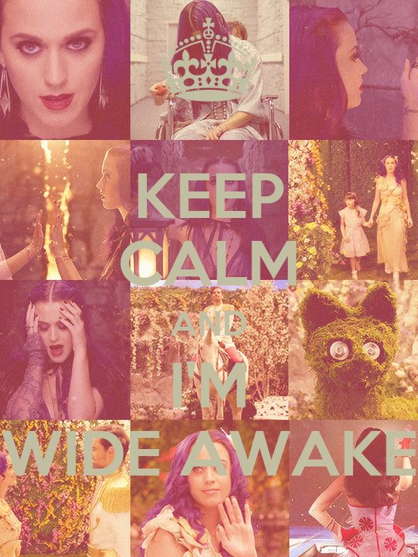 KEEP CALM AND I'M WIDE AWAKE