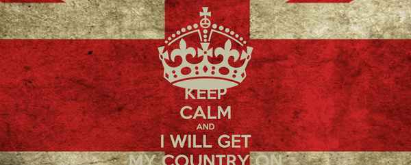 KEEP CALM AND I WILL GET MY COUNTRY ON