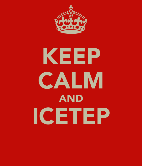KEEP CALM AND ICETEP