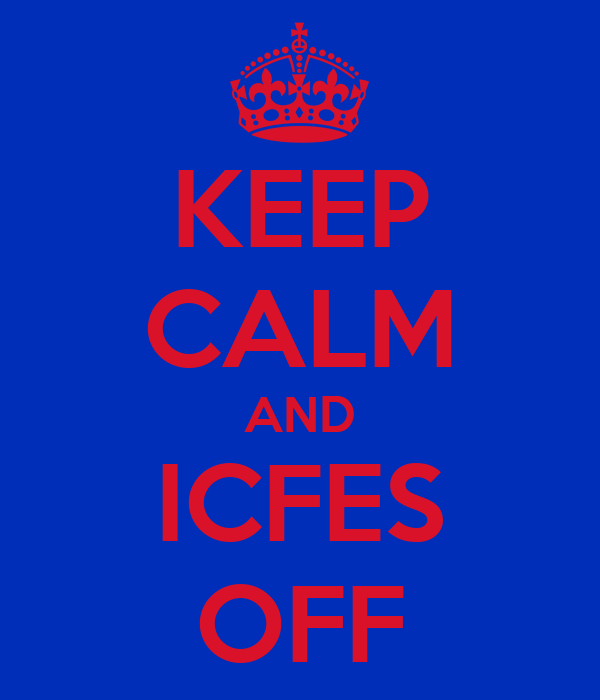 KEEP CALM AND ICFES OFF
