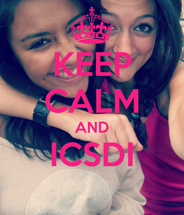KEEP CALM AND ICSDI